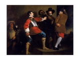 The Discovery of the Gunpowder Plot and the Taking of Guy Fawkes, C.1823 Giclee Print by Henry Perronet Briggs