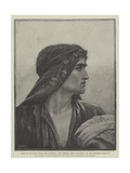Head of St John, from the Picture The Return from Cavalry Giclee Print by Herbert Gustave Schmalz