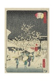Yushima Shrine, September 1862 Giclee Print by Hiroshige II