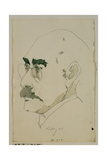 Rudyard Kipling (1865-1936) 15 August 1990 Giclee Print by Horst Janssen