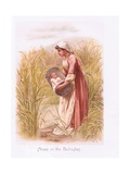 Moses in the Bullrushes Giclee Print by Henry Ryland