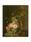 Flower Study Giclee Print by Herman van der Myn