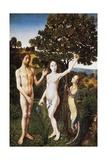 Original Sin Giclee Print by Hugo van der Goes