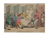 Morning or the Man of Taste, 1781 Giclee Print by Henry William Bunbury