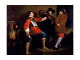 Discovery of the Gunpowder Plot and Taking of Guy Fawkes, C.1823 Giclee Print by Henry Perronet Briggs
