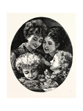 Our Treasures Giclee Print by Henry Woods