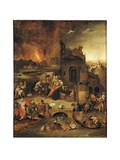 The Temptation of Antony Abbot of Egypt Giclee Print by Hieronymus Bosch