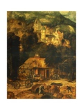 Copper Mine Giclee Print by Herri Met De Bles