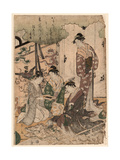 Ise Monogatari Giclee Print by Hosoda Eishi