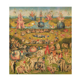 The Garden of Earthly Delights, Middle Panel, C.1500 Giclee Print by Hieronymus Bosch