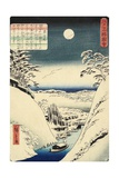 Sho Hei Bridge, November 1862 Giclee Print by Hiroshige II