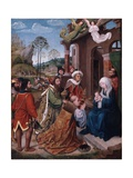 Adoration of the Magi, C.1505 Giclee Print by Hugo van der Goes