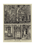 Old Chelsea Church Giclee Print by Henry William Brewer