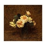 Roses, 1895 Giclee Print by Ignace Henri Jean Fantin-Latour