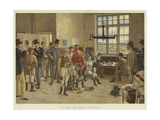 The Derby, the Weighing Room, Epsom Giclee Print by Isaac J. Cullin