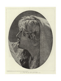 The Head of Mary Magdalene Giclee Print by Herbert Gustave Schmalz