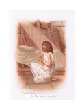 Speak, Lord for Thy Servant Heareth Giclee Print by Henry Ryland