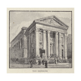 The Roman Catholic Church of St Mary, Moorfields, City, Which Is About to Be Pulled Down Giclee Print by Henry William Brewer