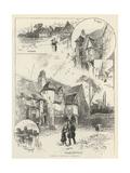 Rambling Sketches, Normandy Giclee Print by Herbert Railton
