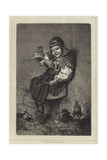 La Petite Suedoise Giclee Print by Hugo Salmson