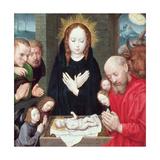 Adoration of the Shepherds Giclee Print by Hugo van der Goes