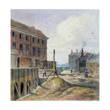Making Victoria Street, 1851 Giclee Print by J. Findley
