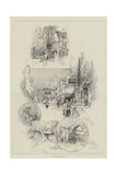 Old Coaching Inns Giclee Print by Herbert Railton