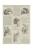 Eighteenth Century Studies, Old and New Giclee Print by Hugh Thomson