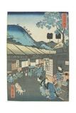 Mariko, 1863 Giclee Print by Hiroshige II