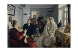 Before Wedding, Circa 1891 Giclee Print by Illarion Mikhailovich Pryanishnikov