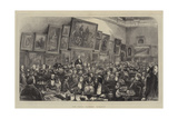 The Royal Academy Banquet Giclee Print by Henry Woods