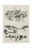 Sketches of Sandringham Giclee Print by Herbert Railton