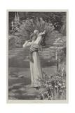 A Garden Idyll Giclee Print by Herbert Gandy