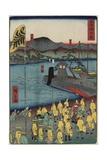 O Tsu, June 1863 Giclee Print by Hiroshige II