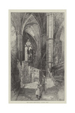 The North Ambulatory, Looking East Giclee Print by Herbert Railton