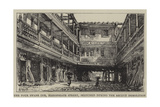 The Four Swans Inn, Bishopsgate Street, Sketched During the Recent Demolition Giclee Print by Henry William Brewer