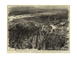 Bird'S-Eye View of Liverpool, as Seen from a Balloon, 1885 Giclee Print by Henry William Brewer