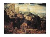 Copper Mines, 1525-1550 Giclee Print by Herri Met De Bles