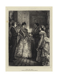 Miss or Mrs Giclee Print by Henry Woods