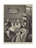 The Christmas Story in the Children's Hospital Giclee Print by Henry Robert Robertson