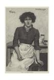 Topsy Giclee Print by Herbert Gustave Schmalz