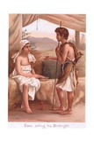 Esau Selling His Birthright Giclee Print by Henry Ryland