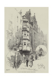 A Bit of Old London, Recently Demolished Giclee Print by Herbert Railton