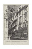 A Vanishing London Thoroughfare, Wych Street Giclee Print by Hugh Thomson