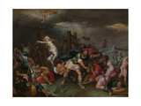 The Martyrdom of Saint Catherine of Alexandria Giclee Print by Hieronymus II Francken