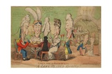 A Long Headed Assembly!!, 1806 Giclee Print by Isaac Cruikshank
