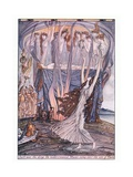 Such Was the Dirge the Violet Crowned Muses Sang over the Son of Thetis Giclee Print by Herbert Cole