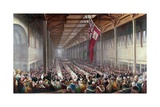 The Banquet Given on the Occasion of the Opening of the Grainger Market Giclee Print by Henry Perlee Parker