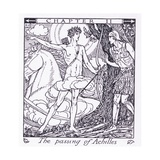 The Passing of Achilles Giclee Print by Herbert Cole