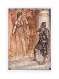In the Midst Thereof Stood Queen Aphrodite with Frowning Brow Giclee Print by Herbert Cole